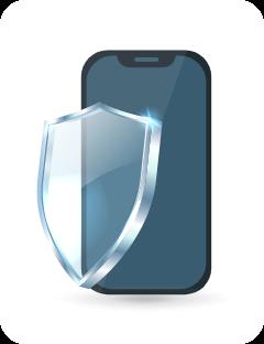 Melindungi smartphone Anda dari risiko kerusakan akibat terjatuh atau terkena cairan.